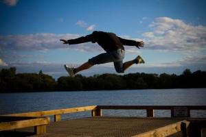 man jumping 2