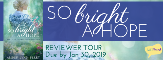 So Bright a Hope reviewer tour